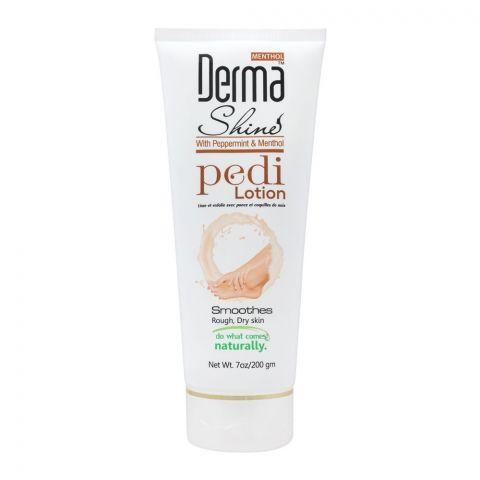 Derma Shine Peppermint & Menthol Pedi Lotion, 200g
