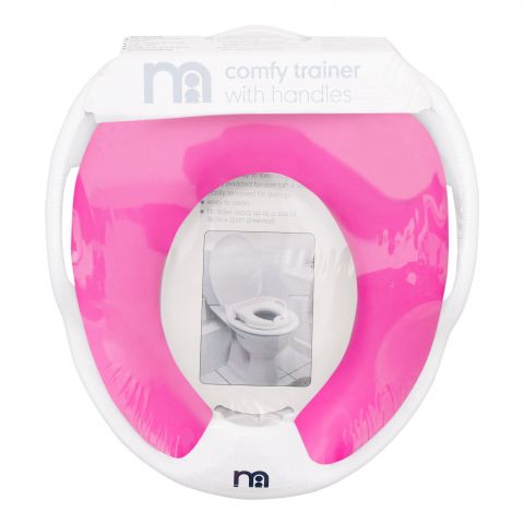 Mothercare Baby Toilet Trainer Cover, Pink