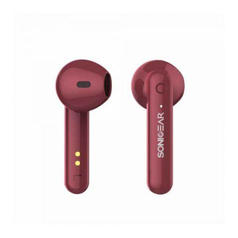 Sonic Ear Earpump TWS3+ Bluetooth Earphone, Red