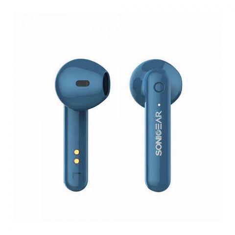 SonicEar Earpump TWS3+ Bluetooth Earphone, Blue