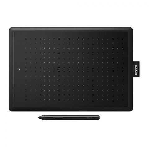 One By Wacom Creative Pen Tablet, Medium, Black, CTL-672/KO-C