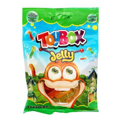 Toy Box Gummy Jelly Worm, 80g