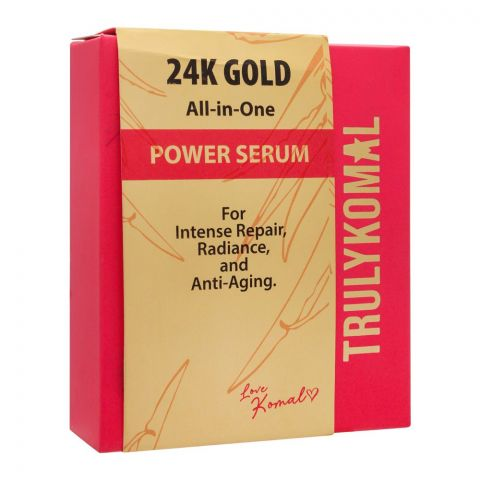 Truly Komal 24K Gold All-in-One Power Serum, 15ml