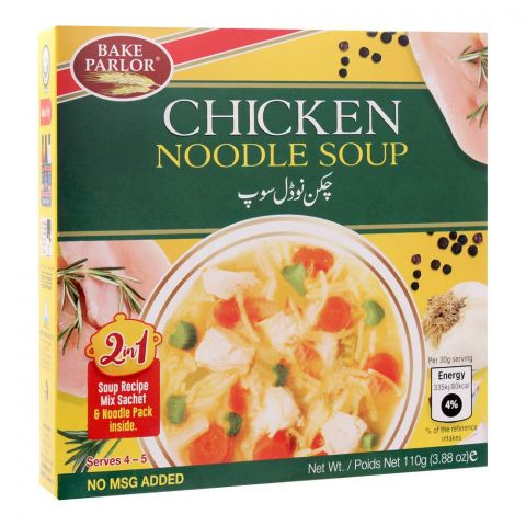 Bake Parlour 2-In-1 Chicken Noodle Soup, 110g