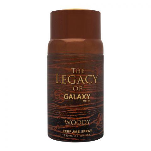 Galaxy Plus Woody Perfume Body Spray, For Men, 250ml