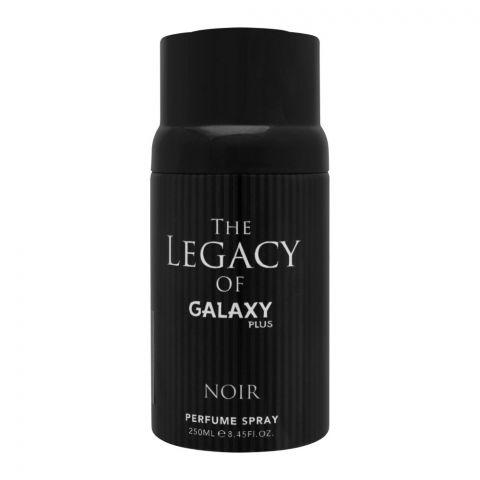 Galaxy Plus Noir Perfume Body Spray, For Men, 250ml