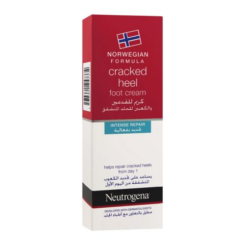 Neutrogena Norwegian Formula Cracked Heel Intense Repair Foot Cream, 50ml