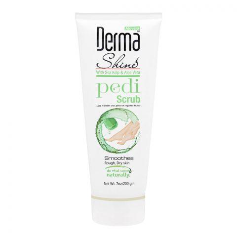 Derma Shine Sea Kelp & Aloe Vera Pedi Scrub, 200g