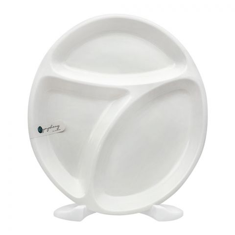 Symphony 3 Division Platter, 11x9.8 Inches, SY-4472