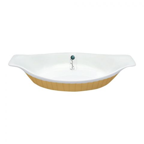Symphony Adorn Serving Dish, 10.2x5.5 Inches, SY-8009