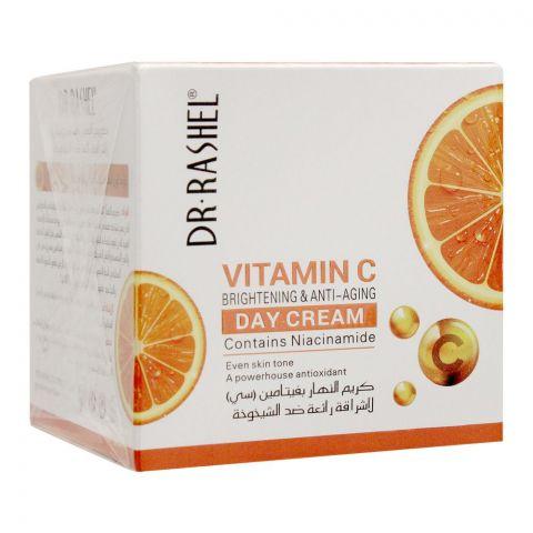 Dr. Rashel Vitamin C Brightening & Anti Aging Day Cream, 50g