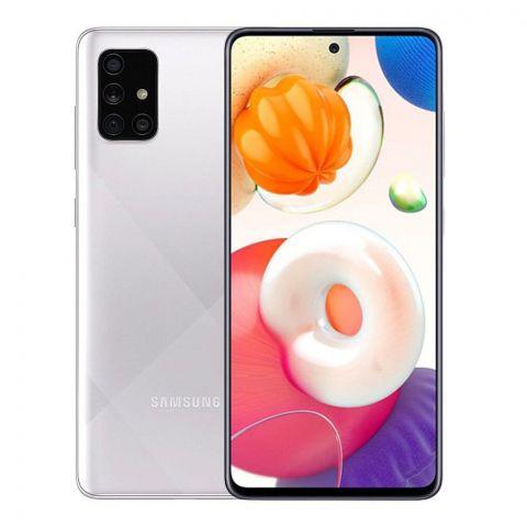 Samsung Galaxy A51 6GB/128GB Prism Haze Crush Silver Smartphone, SM-A515