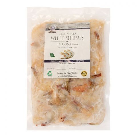 Sea Prince Frozen Shrimp Tail, Vacuum Packed, 500g (Approx)