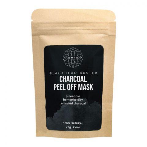 Aura Crafts Trusting Nature Blackhead Buster Charcoal Peel-Off Mask, 75g