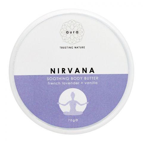 Aura Crafts Nirvana Lavender + Vanilla Soothing Body Butter, 200g