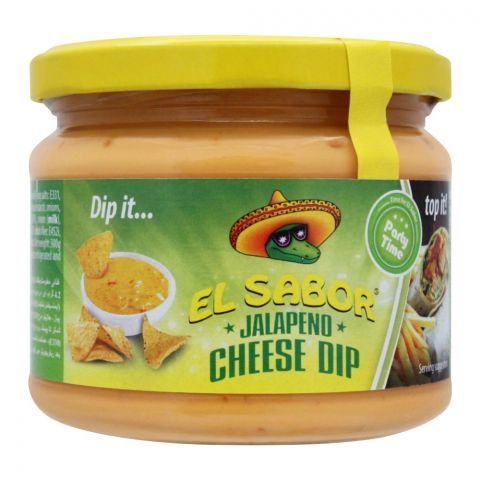 EL Sabor Jalapeno Cheese Dip, 300g