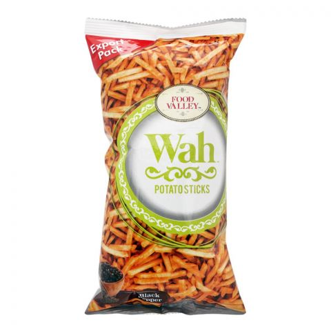Wah Potato Sticks, Black Pepper, 150g