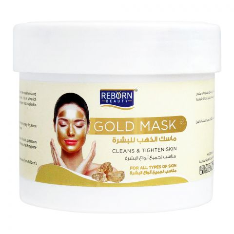 Reborn Beauty Gold Facial Mask, All Skin Types, 500ml