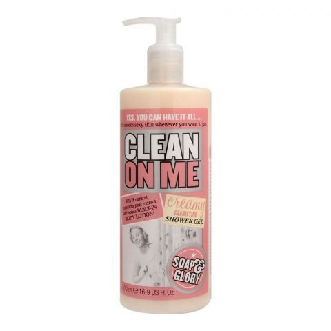 Soap & Glory Clean On Me Creamy Clarifying Shower Gel, 500ml