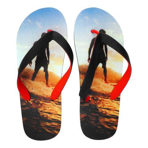 Men's Slippers, I-10, Black