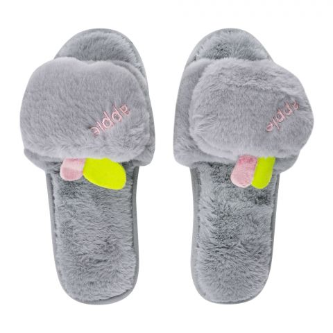 Women's Slippers, I-17, Grey