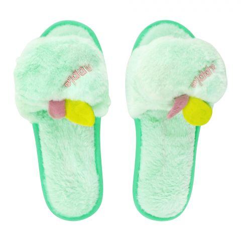 Women's Slippers, I-17, Green
