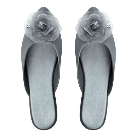Women's Slippers, I-28, Grey