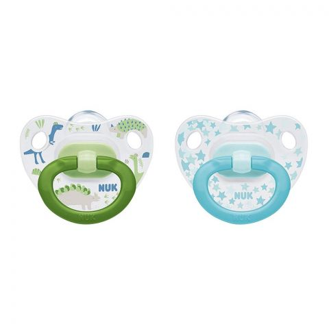 Nuk Happy Days Silicone Orthodontic Pacifier, 0-6m, 10730037