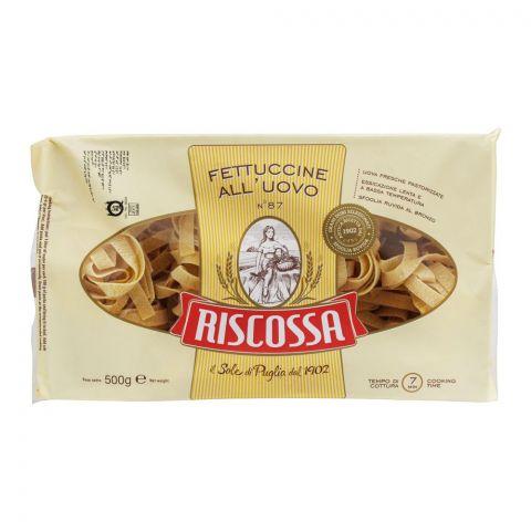 Riscossa Fettuccine All'uovo, No. 87, 500g