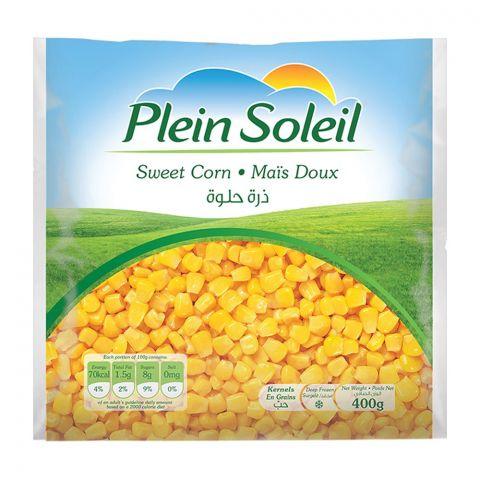 Plein Soleil Sweet Corn, Frozen, 400g