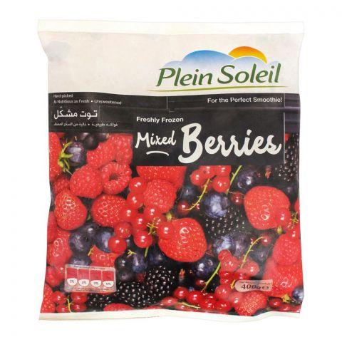 Plein Soleil Mixed Berries, Frozen, 400g