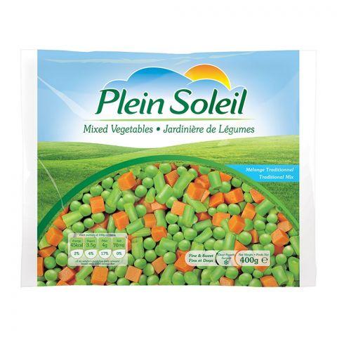 Plein Soleil Mixed Vegetables, Frozen, 400g