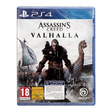 Assassins Creed Valhalla, PlayStation 4 (PS4)