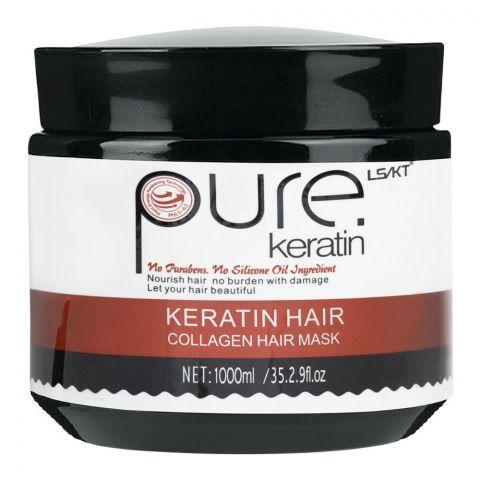 LS/LK Pure Keratin Hair Collagen Hair Mask, 1000ml