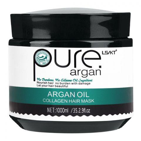 LS/LK Pure Argan Oil Collagen Hair Mask, 1000ml