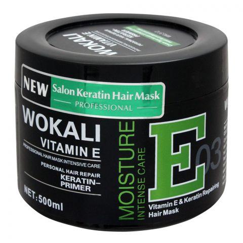 Wokali Vitamin E & Keratin Repairing Hair Mask, 03, 500ml