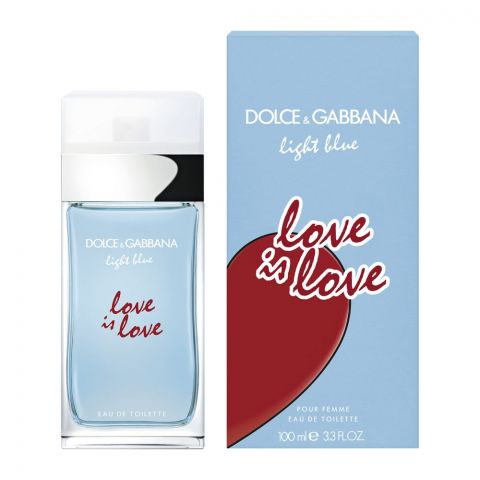 Dolce & Gabbana Light Blue Love Is Love Pour Femme Eau De Toilette, Fragrance For Women, 100ml