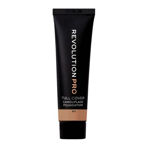 Makeup Revolution Pro Full Cover Camouflage Foundation, F11