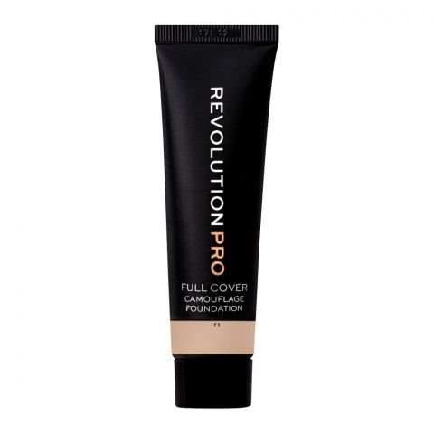 Makeup Revolution Pro Full Cover Camouflage Foundation, F3