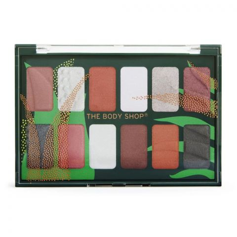 The Body Shop Bold As Nature Eyeshadow Palette, 10 Shades