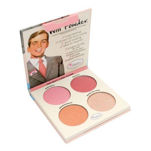 theBalm Will Powder Blush Quad, 10g