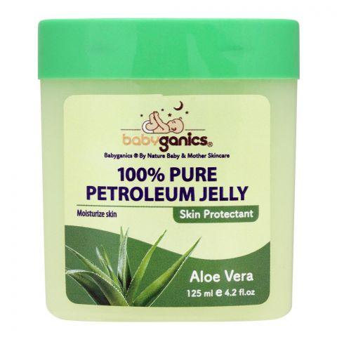 Baby Ganics Aloe Vera 100% Pure Petroleum Jelly, 125ml