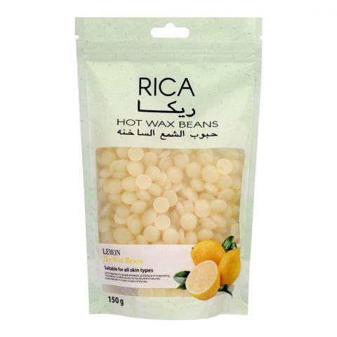 RICA Lemon Hot Wax Beans, All Skin Types, 150g