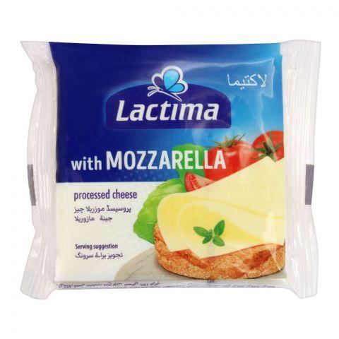 Lactima Mozzarella Cheese Slices, 8 Pieces, 130g