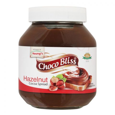 Young's Choco Bliss Hazelnut Cocoa Spread, 675g