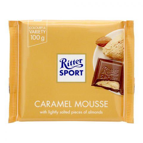 Ritter Sport Caramel Mousse Chocolate, 100g