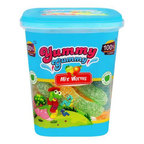 Yummy Gummy Mix Worms