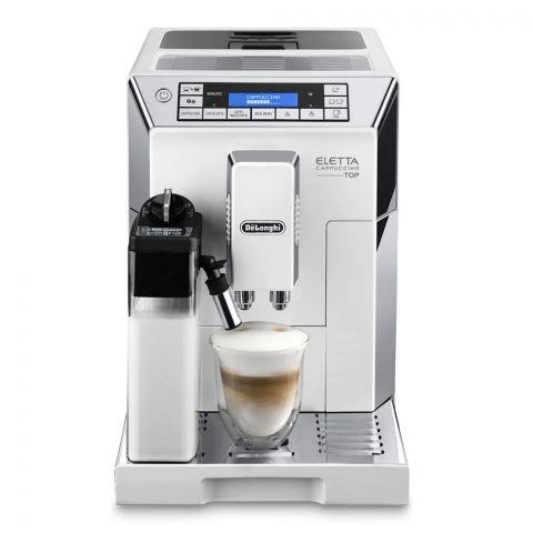 DeLonghi Eletta Cappuccino Top Automatic Espresso Machine, ECAM-45.760.W