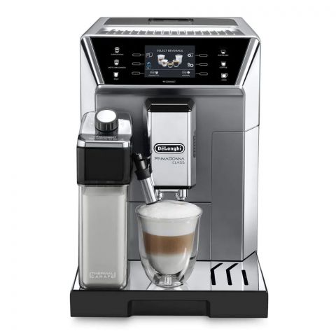 DeLonghi Prima Donna Class Automatic Cappuccino Maker, ECAM-550.85.MS
