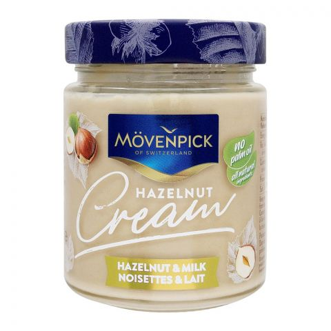 Movenpick Hazelnut & Milk Cream Spread, 300g